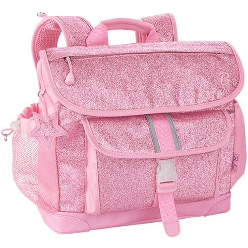 Bixbee Sparkalicious Pink Kids Glitter Backpack - Medium - Patented Horizontal Design With Ergonomic Attributes - Plenty Of Space - Comfortable On Kid Shoulders With Cushy Padding - 3 (303008)