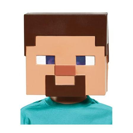 Minecraft Steve Vacuform Mask](Mindcraft Mask)