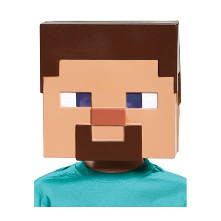 Minecraft Steve Vacuform Mask](Minecraft Mask)