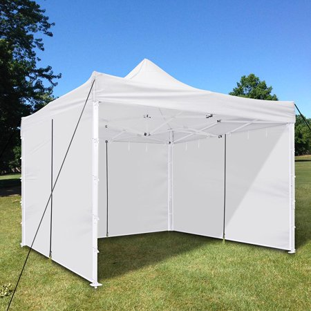 Yescom 10x10' EZ Pop Up Canopy Tent Side Wall Party Tent Wall