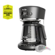 Mr. Coffee Easy Measure 12-Cup Programmable Coffee Maker, Black