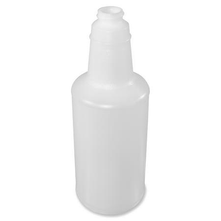 Genuine Joe, GJO85126, 32 oz. Plastic Bottle with Graduations, 12 / Carton, Translucent, 1 quart 1 Quart Milk Carton