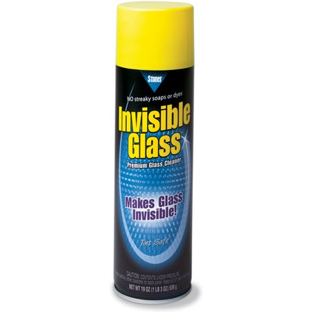 Invisible glass automotive glass cleaner 19 oz for Window cleaner