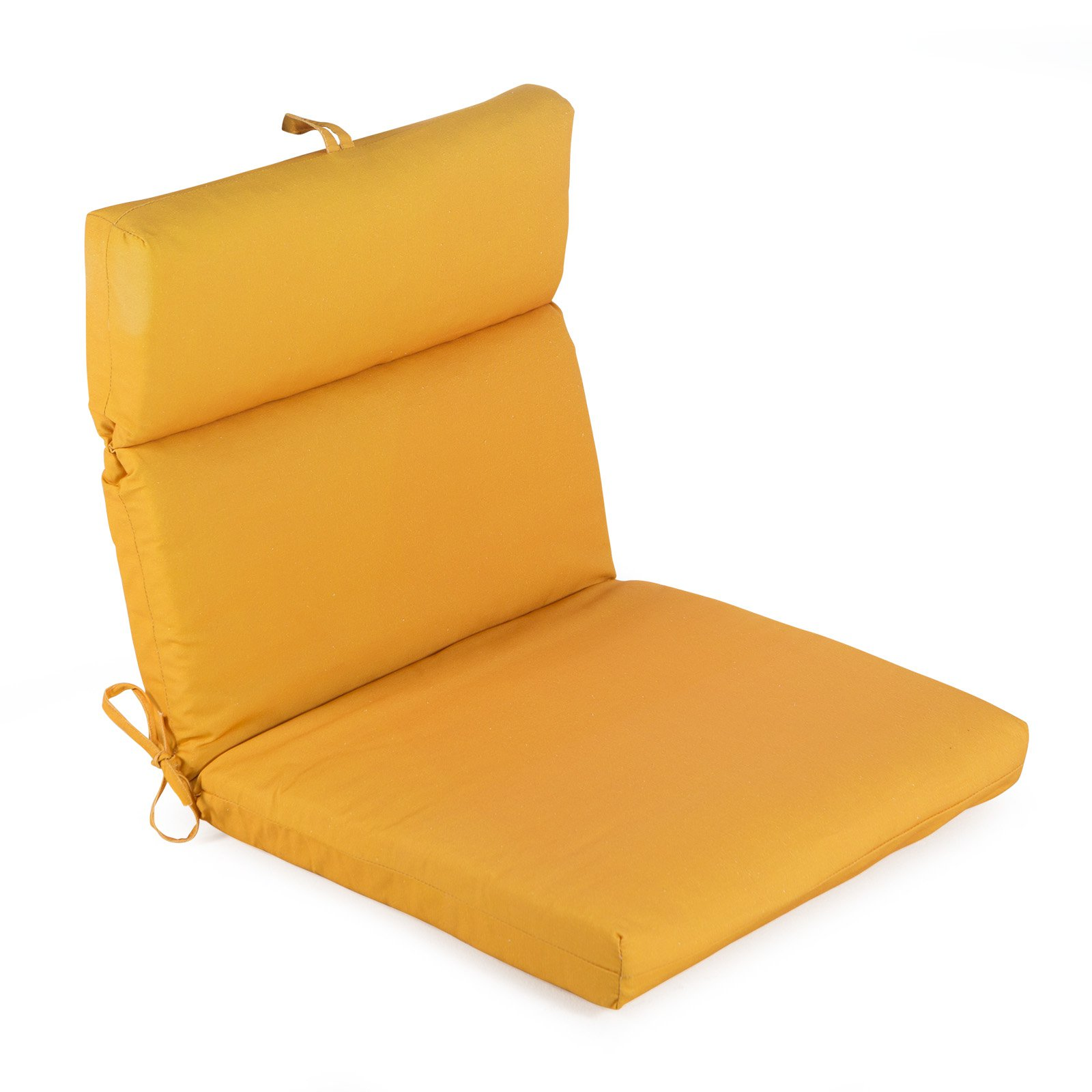 Picture of: Coral Coast Mid Century Modern French Edge Cartridge Hinged Seat Amp Back Outdoor Chair Cushion Walmart Com Walmart Com