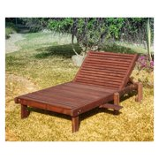 Best Redwood Wide Sun Chaise Lounge