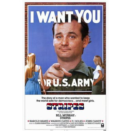 Stripes (1981) 11x17 Movie Poster