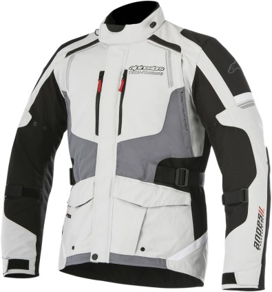 Alpinestars Andes V2 Mens Drystar Jacket Gray/Black