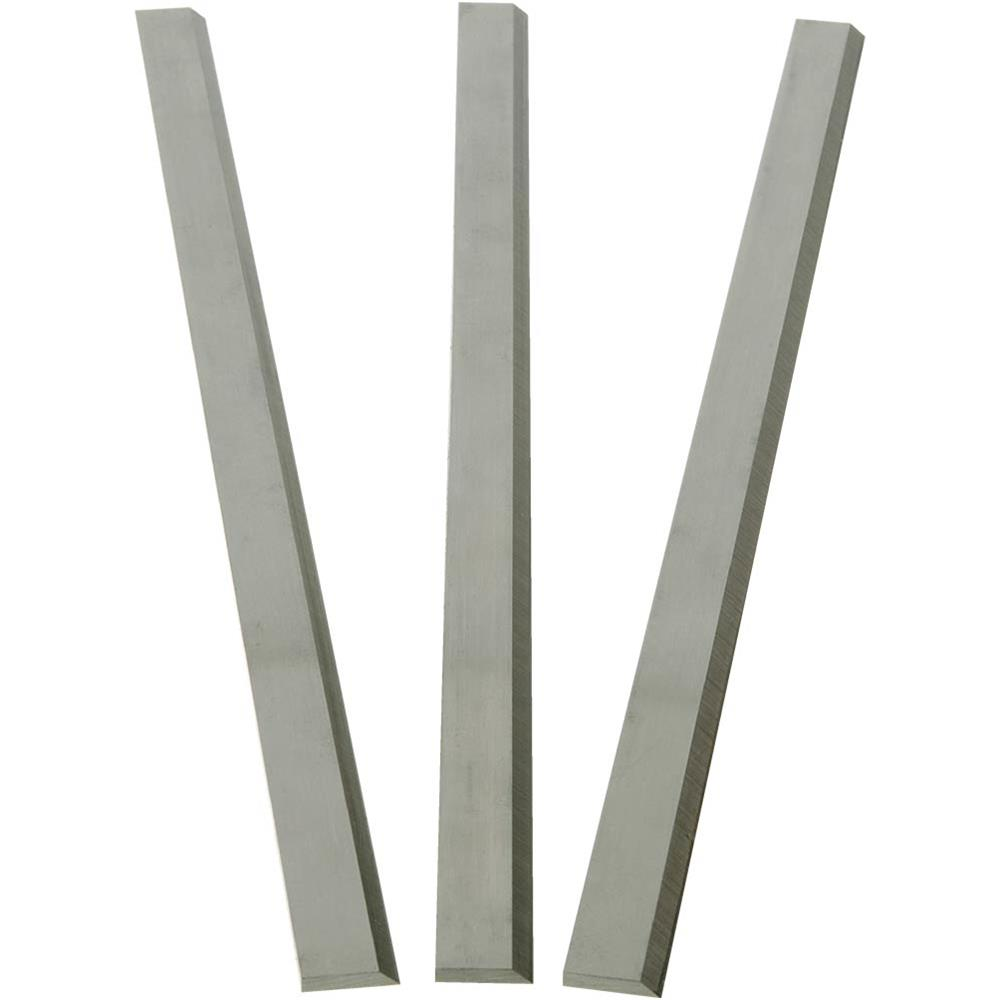 """Grizzly G4517 13"""" x 5/8"""" x 1/8"""" HSS Planer Blades for G1037, Set of 3"""