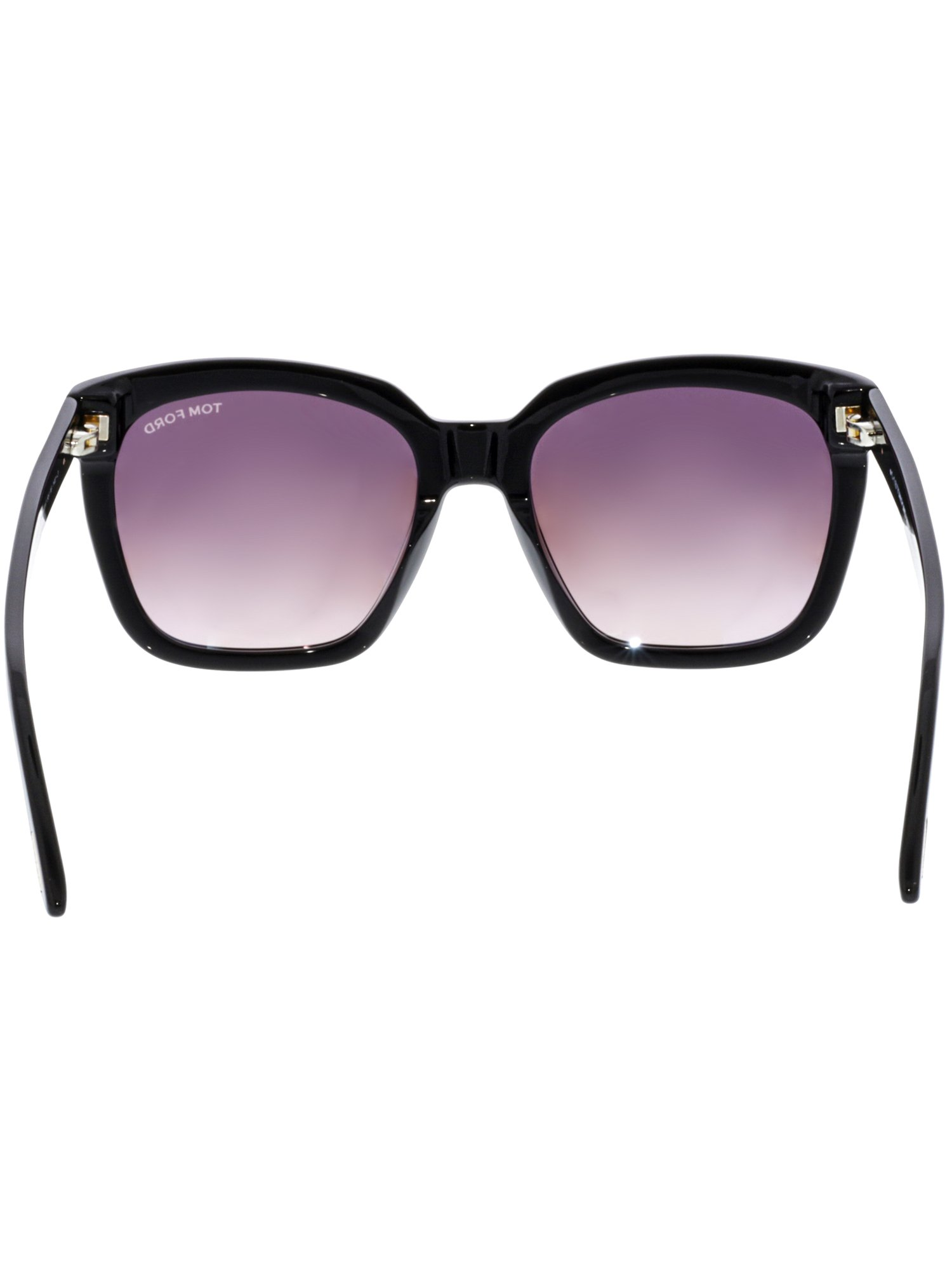 a92a5bccf7 Tom Ford - Women s Gradient Amarra FT0502-01T-55 Black Square Sunglasses -  Walmart.com