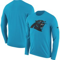 166ce9dbb6b Product Image Carolina Panthers Nike Fan Gear Primary Logo Long Sleeve  Performance T-Shirt - Blue -