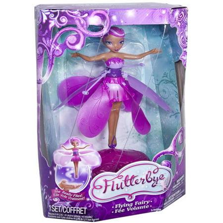 Flutterbye flying fairy doll walmart mightylinksfo