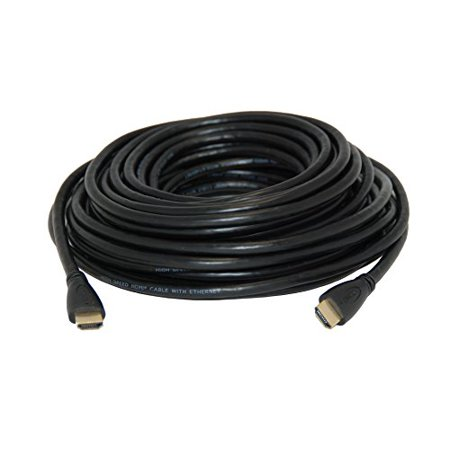 HDMI to HDMI Cable, gold plated. HDMI 1.3, for In-Wall Installation 40 feet - image 1 of 1