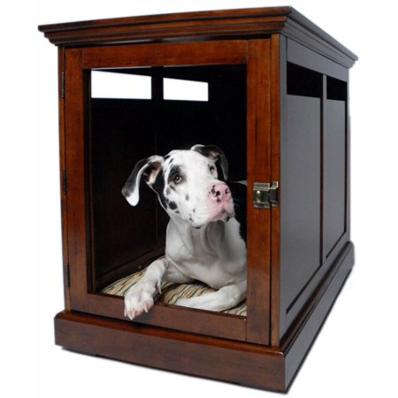 xl mahogany townhaus dog crate in mahogany finish. Black Bedroom Furniture Sets. Home Design Ideas