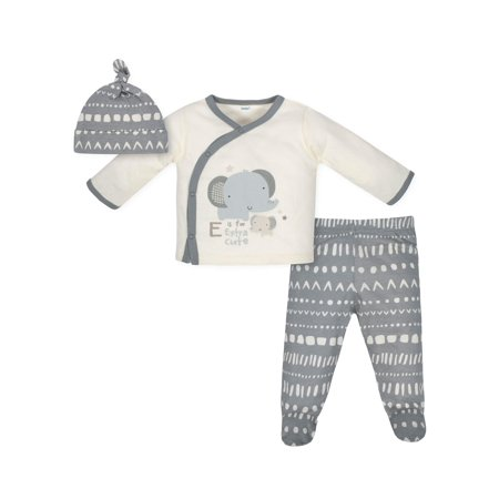 Truly Me Clothing Wholesale (Take Me Home Shirt, Cap and Footed Pant Outfit Set, 3pc (Baby)