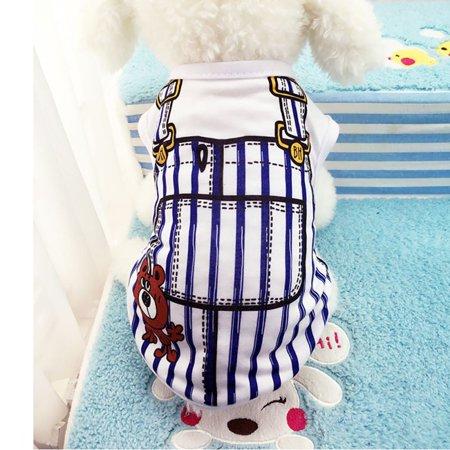 Weefy Cute Pet Clothes Dog Puppy Cotton Sport Vest T-Shirt Doggy Costume Outfit - Cute Puppy Costumes