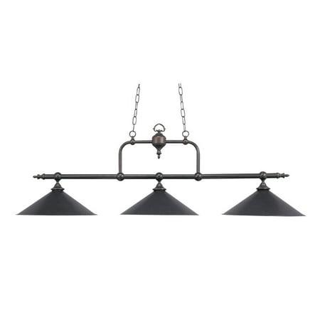 New Product ELK Lighting The Designer Classics 3 Light Billiard In Tiffany Bronze 191-TB Sold By VaasuHomes