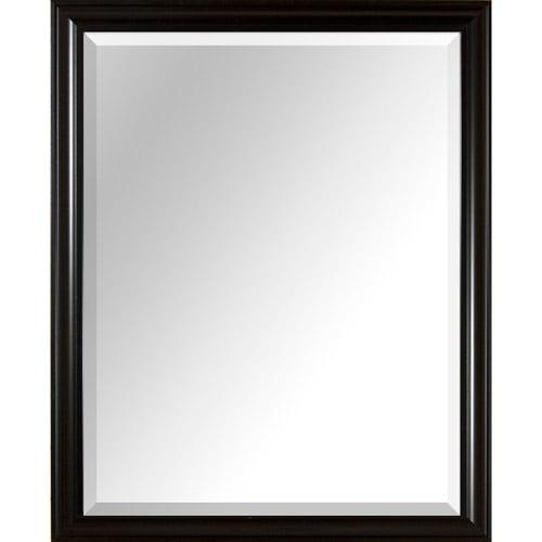 "PTM Images 25"" x 31"" Mirror, Black"