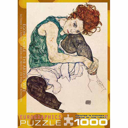 EuroGraphics The Artist's Wife by Egon Schiele 1000-Piece Puzzle
