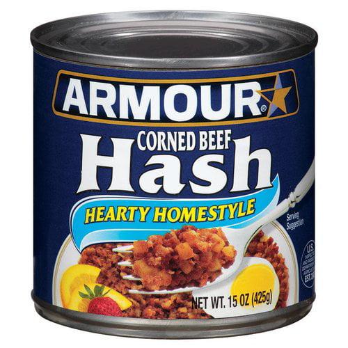 Armour Corned Beef Hash, 15 oz