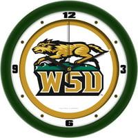 Wright State Raiders NCAA Traditional Wall Clock
