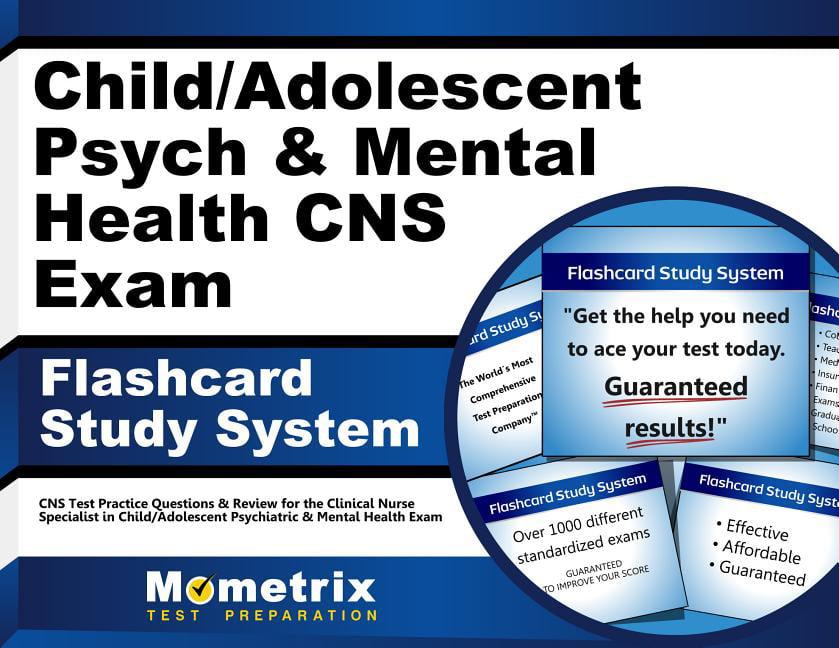 Child/Adolescent Psych & Mental Health CNS Exam Flashcard ...