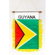 Guyana - Window Hanging Flag