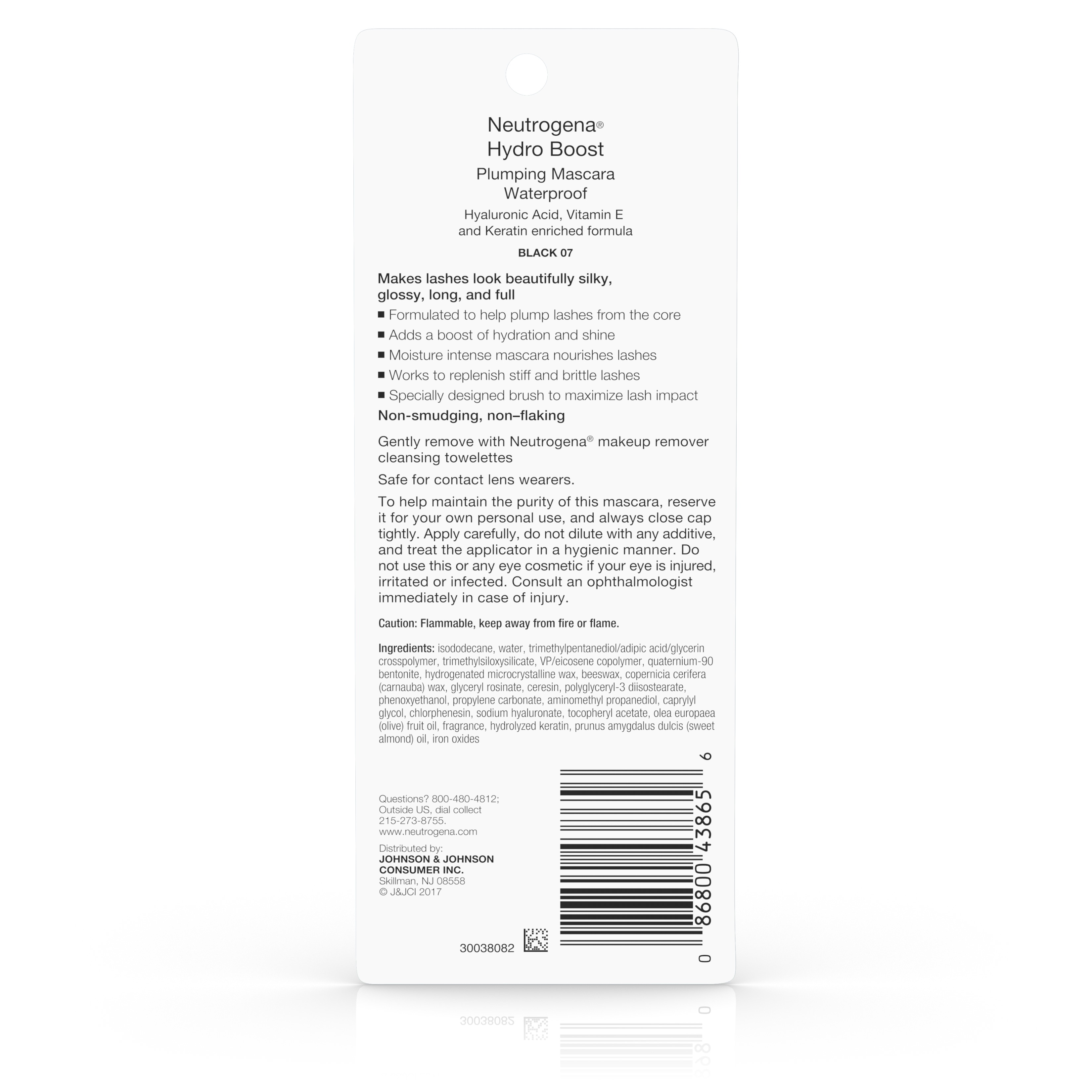 d888ebcb831 Neutrogena Hydro Boost Plumping Waterproof Mascara Black/Brown 08,.21 oz -  Walmart.com