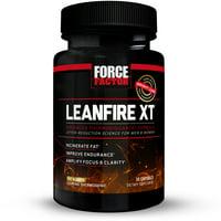 Force Factor LeanFire XT Metabolism Booster + Weight Loss, 30 Ct