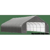 ShelterLogic 30' x 24' x 16 Peak Style Shelter, Gray