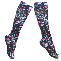 c46e6b8e64 Product Image 19V69 Italia Compression Socks for Travel, Pregnancy,  Athletes (Floral)