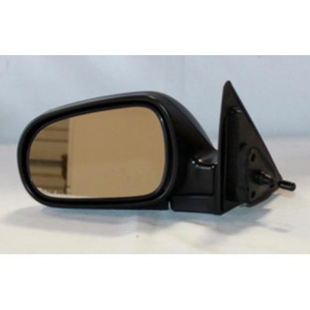 NEW LEFT DRIVER SIDE DOOR MIRROR FITS 1990-1993 HONDA ACCORD SEDAN  HO1320106 76250-SM4-A02 63524H HO17L HO1320106 Honda Accord Driver Side Mirror