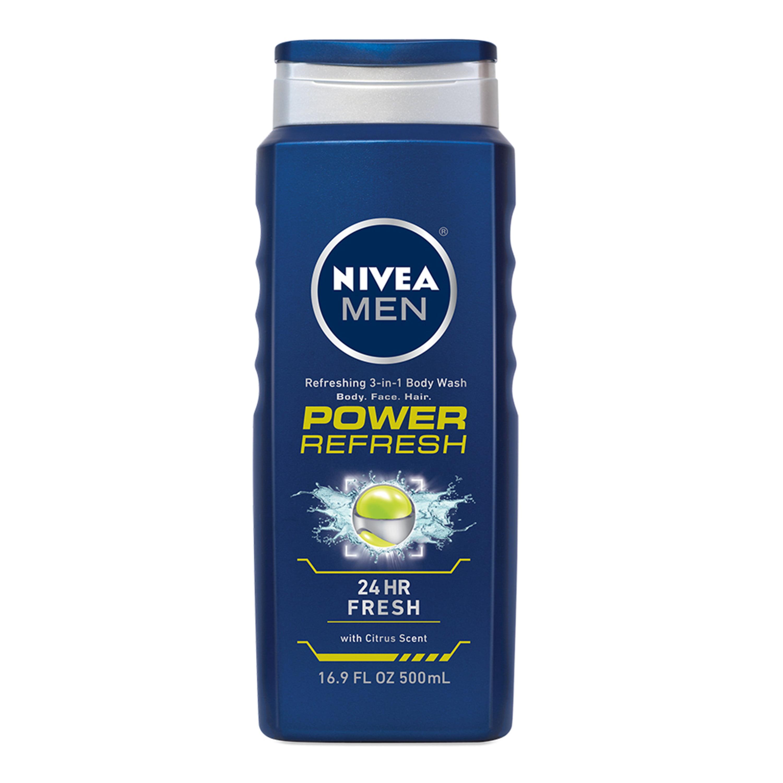 NIVEA Men Power Refresh Body Wash 16.9 fl. oz.