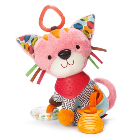 Skip Hop Bandana Buddies Activity Toy, Kitty