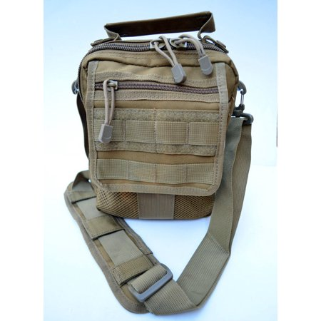 Acid Tactical Molle Pistol Gun Case Concealed carry Bag Utility Pouch IFAK Tan / Khaki thumbnail