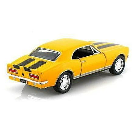 "5"" Kinsmart 1967 Chevrolet Camaro Z/28 diecast model chevy toy 1:37 Yellow"