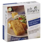 Dr. Praeger's Purely Sensible Foods Lightly Breaded Fish Filets - 6 CT