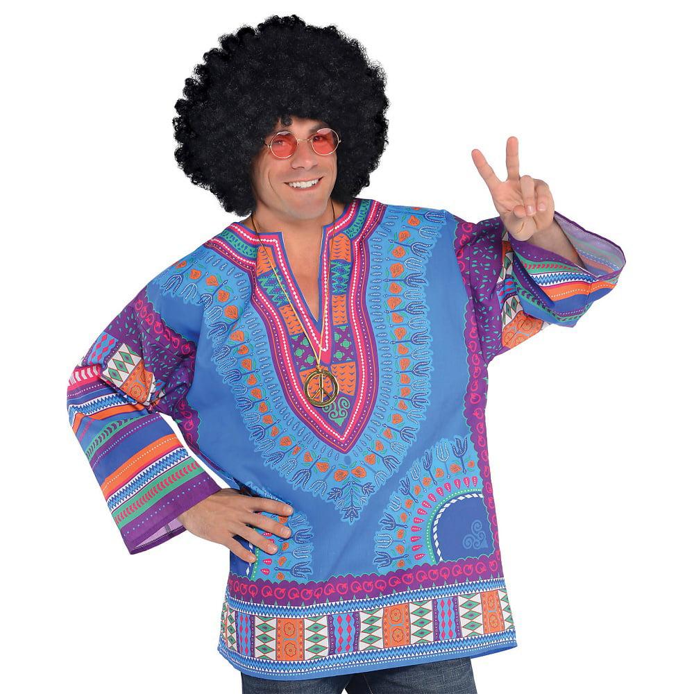 Hippie Festival Shirt Adult Costume - Standard