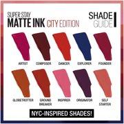 Maybelline Superstay Matte Ink City Edition Liquid Lipstick Makeup