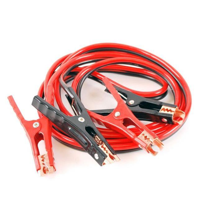 12 Ft Booster Power Jumper Cable 6 Gauge Walmart Com