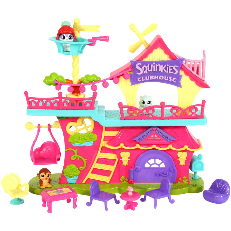 Squinkies Do Drops Squinkieville Clubhouse