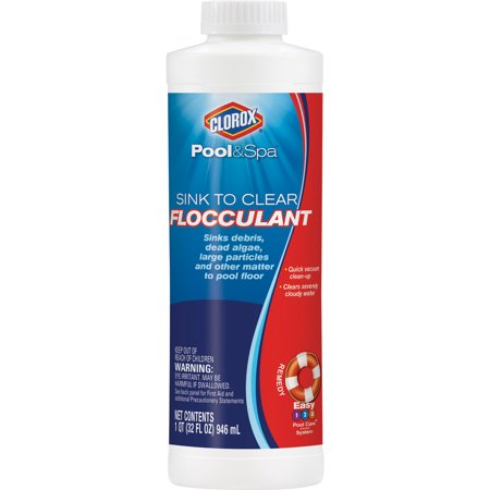 Clorox Pool&Spa Sink to Clear Flocculant Pool Clarifier, 32 -