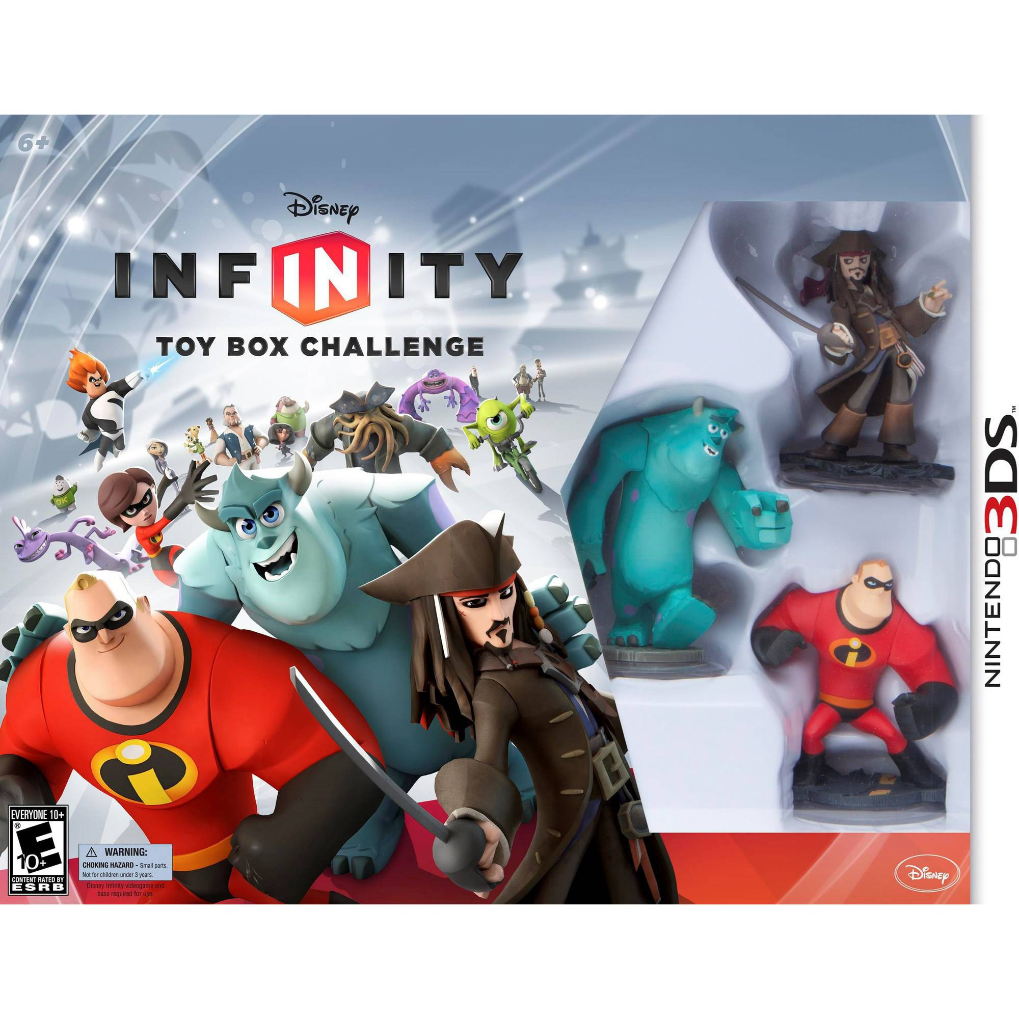 Disney Infinity Toy Box Challenge Starter Pack (Nintendo 3DS) by Avalanche Software