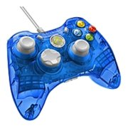 Rock Candy Wired Controller for Xbox 360 - Blueberry Boom - Cable (Refurbished)