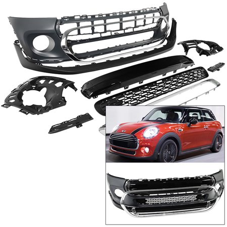 Mini Cooper Performance Exhaust - Front Bumper Fascia Kit Mini Cooper F55 F56 F57 2014-2017 Convertible Hardtop HB