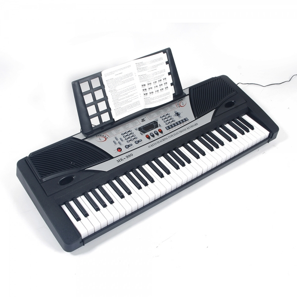 61 Key Standard Keyboard MK-980 LED Display Electronic Organ Instrument on Clearance