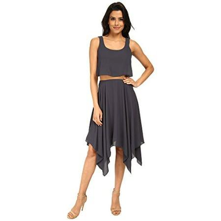 Ebony Swimsuits (Bailey 44 Women's Undercut Dress Ebony Dress LG (US)