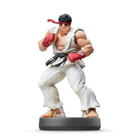 Ryu Amiibo Super Smash Bros Series Figure (Unlock All Super Smash Bros Melee Characters)