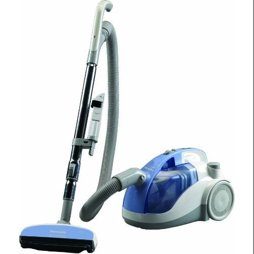 Panasonic Canister Vacuum Cleaner - 11 A - Bagless - Light Blue