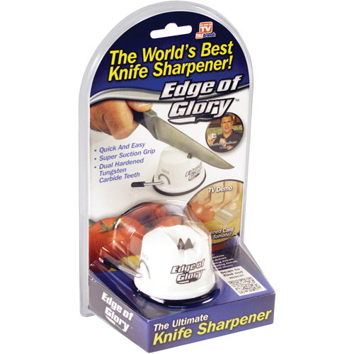 As Seen On Tv Edge Of Glory Asotv Knife Sharpener by Telebrands