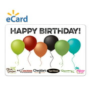 Darden® $25 Happy Birthday Gift Card (Email Delivery)